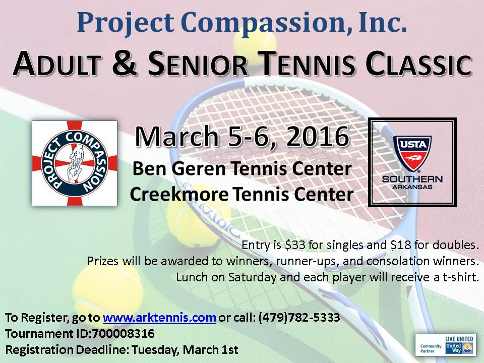 tennis classic flyer 2016 Play B