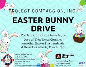 Project Compassion Easter Bunny Drive