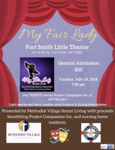My Fair Lady, Fort Smith Little Theater
