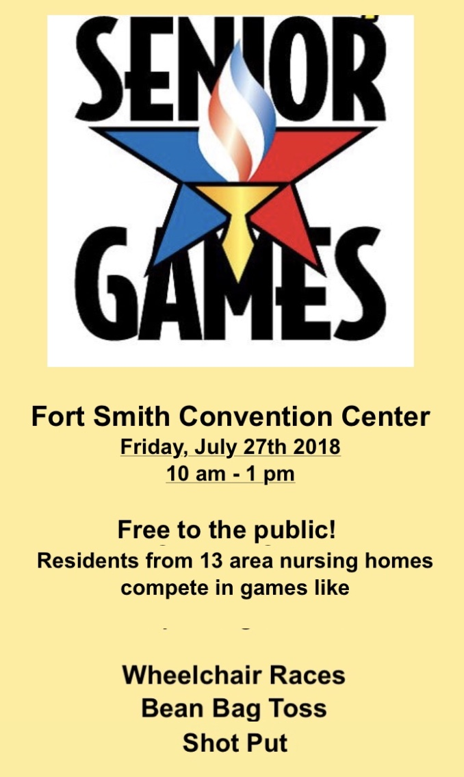 Senior Games, Fort Smith Convention Center