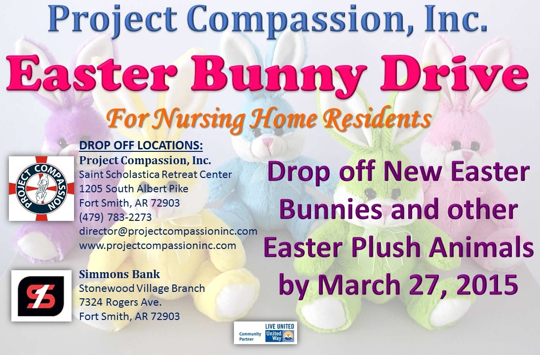 It S Easter Bunny Time Again Project Compassion Inc
